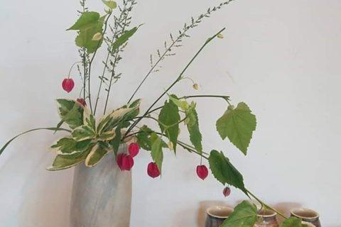 花器(アブチロン)